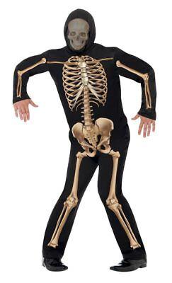 Skelettkostüm Skelett Gerippe Anzug Kostüm Halloween - Herr Groß Kostüm