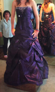 Grad dress by Alyce Designs