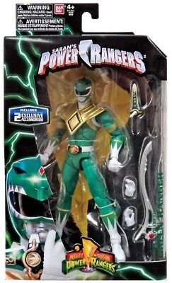 Power Rangers Legacy Green Mighty Morphin Ranger With Dragon Dagger & Sword 2016 (Power Ranger Sword)
