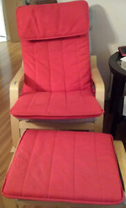 IKEA Poang Rocking Chair + Footstool CUSHIONS + COVERS only