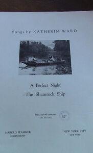 Vintage, Sheet Music Piece, Katherin Ward, 1918 Kitchener / Waterloo Kitchener Area image 1