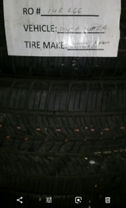 245 50 r20 General Altimax like new Venza