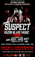 Suspect Reel Wolf Razorblade tour Club NV May 11th