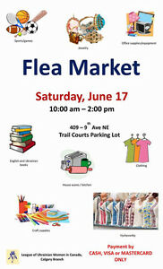 Indoor-Outdoor Neighbour Day FLEA MARKET & Free BBQ