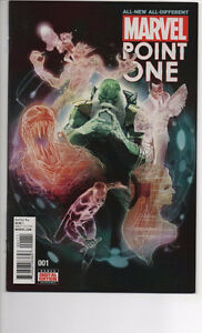 ALL NEW ALL DIFFERENT MARVEL POINT ONE #1 2015 1ST BLINDSPOT