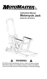 Motorcycle Jack for sale