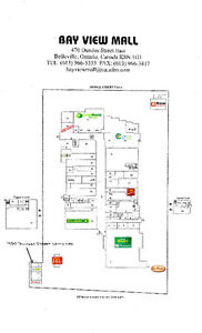 """Leasing Opportunities at """"Bay View Mall"""" Belleville, Ont"""