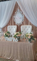 KING AND QUEEN CHAIRS - **FREE DELIVERY**