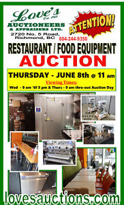 BERKEL MIXER 80 QT. on the AUCTION BLOCK - JUNE 8th @ 11 am
