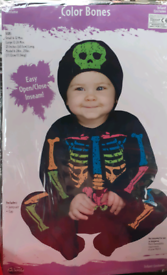 BRAND NEW COLOURFUL HALLOWEEN OUTFIT