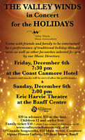 Valley Winds Winter Concerts