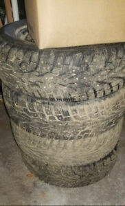 Studded winter tires 185/60/15