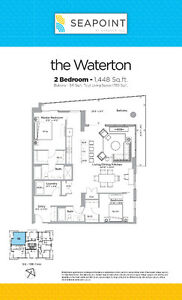 Spectacular Pre-sale Waterfront Condominium - 2 Bed, 2 Bath