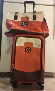 GUESS Carry-On Suitcase with Carry-On bag