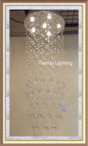 Cheap special sale crystal raindrop chandelier light