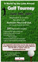 St Marks by the Lake Golf Tourney June 11th at Rochester Place