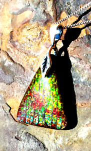 Amazing Alberta Ammolite Pendants! Free Form Gems Only $149.00