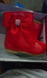 New born baby Spanish boots