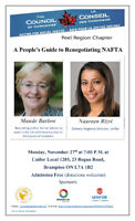 A People's Guide to Renegotiating NAFTA – Getting it Right!