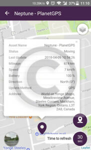 GPS/SPY GEAR/REAL TIME MONITORING