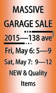 HUGE MULTI-FAMILY GARAGE SALE:  TONS OF NEW ITEMS