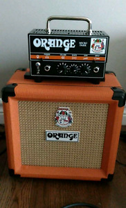 Orange Micro Dark 20 Watt Head with 1x8 Cab