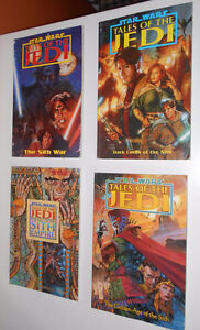 4 Tales of the Jedi Graphic Novels