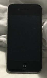 iPhone 4S, black glass