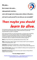 Fredericton Diving Club Fall Registration