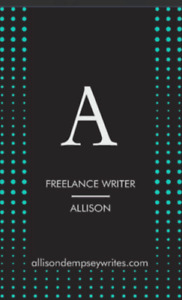 Freelance writing, proofreading, ghostwriting