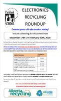 Electronic Waste School Fundraiser!