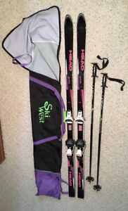 HEAD Skis, LOOK Bindings, Centronic Poles & Ski Bag