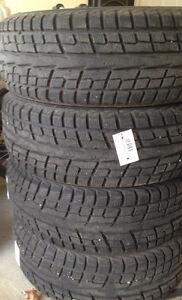 4 Yokohama Ice Guard winter tires P235/60/R18