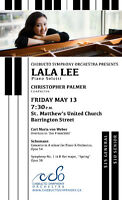 Chebucto Symphony Orchestra with piano soloist, LaLa Lee!