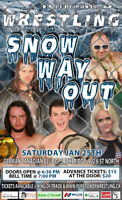 PPW Snow Way Out (featuring a STEEL CAGE MATCH!)