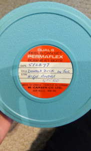 Donald Duck in the High Andes - Super 8 Film Reel
