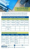 OPEN HOUSE- Mount Fitness Centre