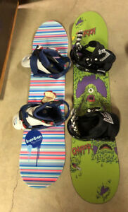 Kid's/Youth Snowboards & Boots