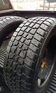 """5 - 15"""" Winter Tires in Very Good Condition"""
