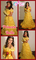 PRINCESS PARTY BEAUTY AND THE BEAST FROZEN SOFIA CINDERLLA SNOW