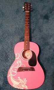 First Act Pink Acoustic Guitar