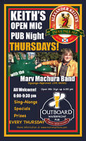 Open Mic @ The Outboard Waterfront Pub  (THURSDAYS)
