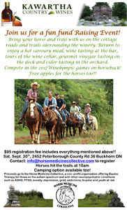 Wine and Trails Fun Fundraiser