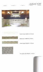 Tuiles murale Subway /céramique /Porcelaice/Dosseret
