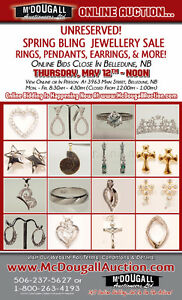 UNRESERVED! ONLINE AUCTION: ✧ Spring Bling ✧  Jewellery Sale