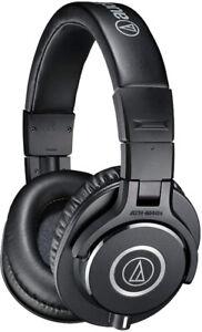 Audio-Technica ATH-M40x Professional Headphones, Black NEW