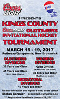 Kings County Coors Light Old Timers Hockey Tournament