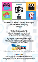 Movie Trivia Night - Fundraiser for Orillia Student Food Locker