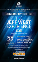 Bright's Grove Optimist Fundraiser Hypnotist/Comedian Jeff West