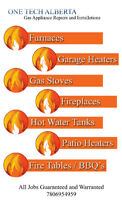 Gas Appliance repair and installation